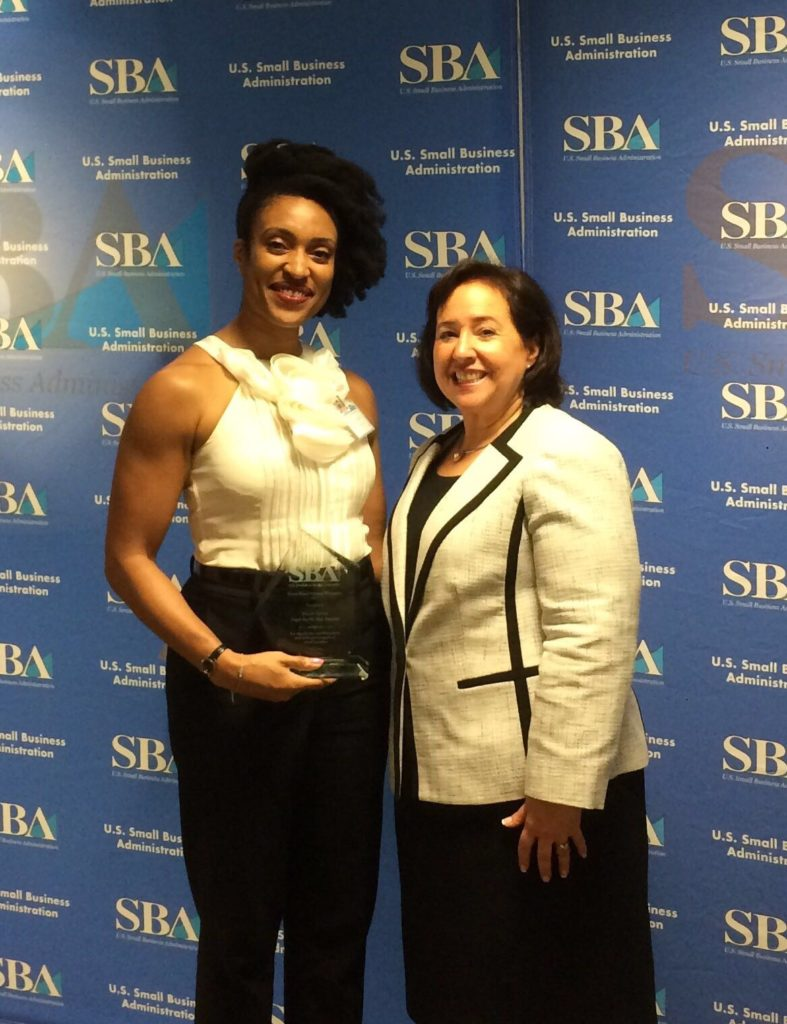 Small Business Administration's 217 New York District Home Based Business of The Year Champion
